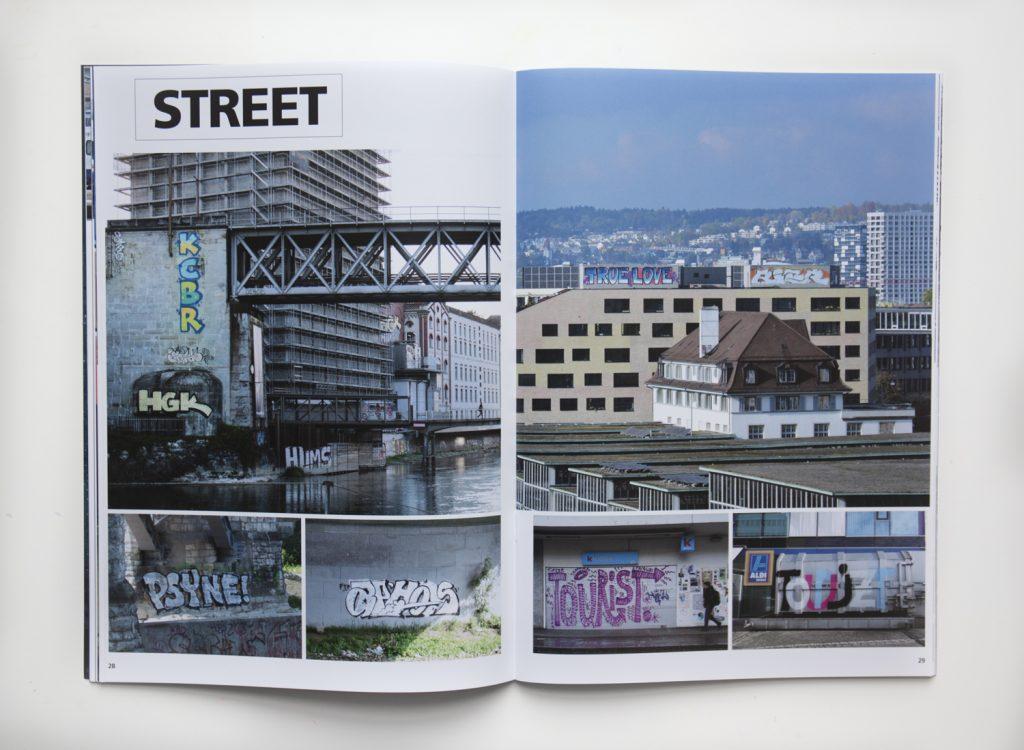 Schonz Zuri magazine