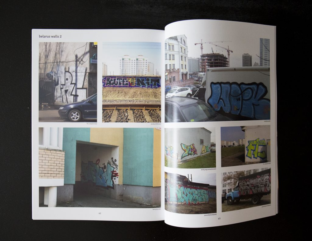 Belarus graffiti magazine