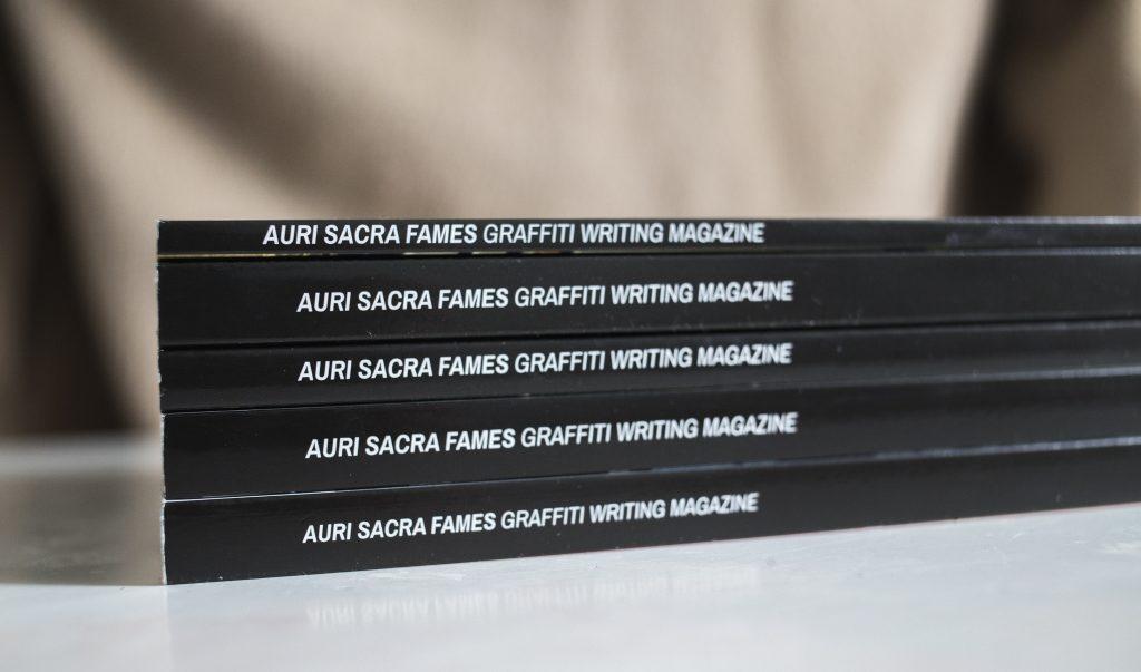 Auris Sacra Fames magazine spines