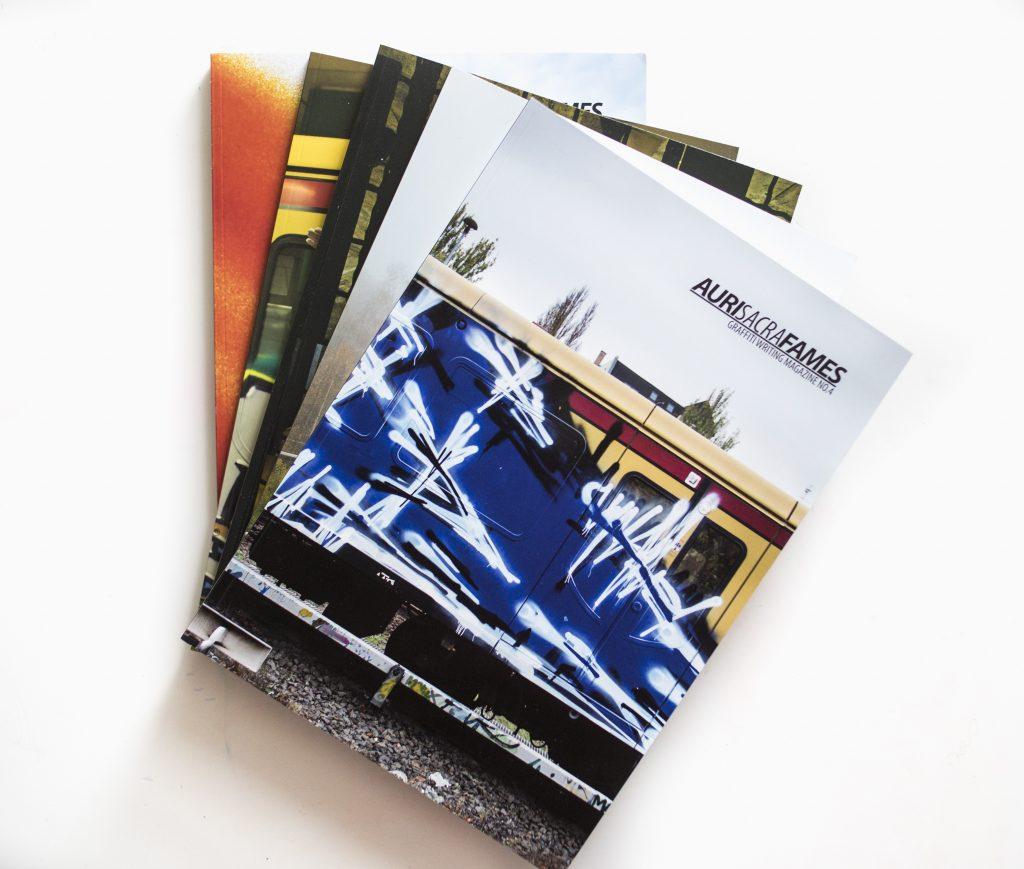 Auri Sacra Fames magazine covers