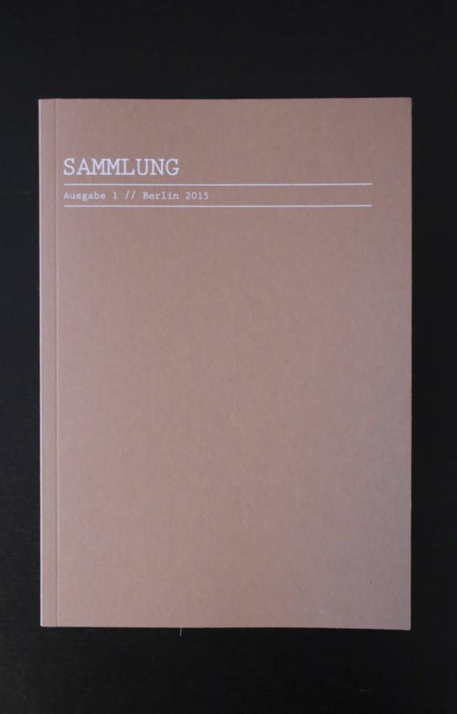 Sammlung frontcover