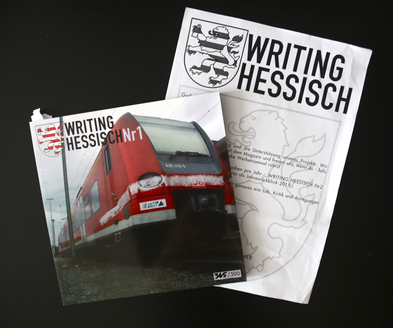 Writing Hessisch