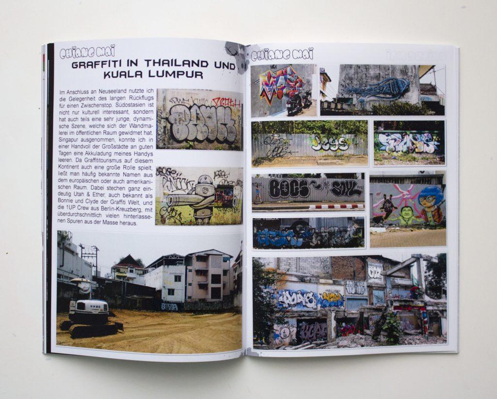 graffiti in Chiang Mai