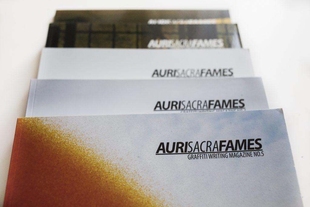 Auri Sacra Fames magazines