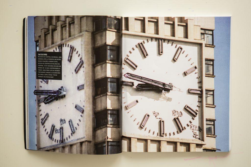 pixação clock
